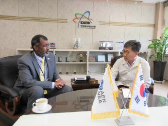 OECD/NEA Director General Visits KAERI