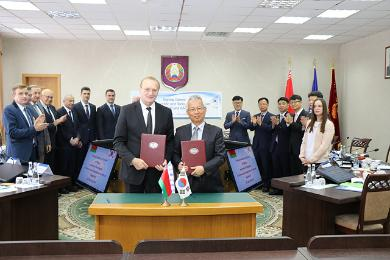 KAERI and NASB signed MOU on Scientific and Technical Cooperation