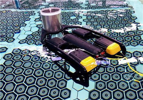 South Korean robot for spent fuel inspection