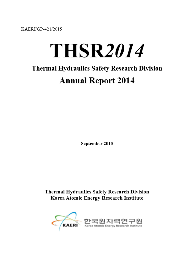 Thermal hydraulics safety research division annual report 2014