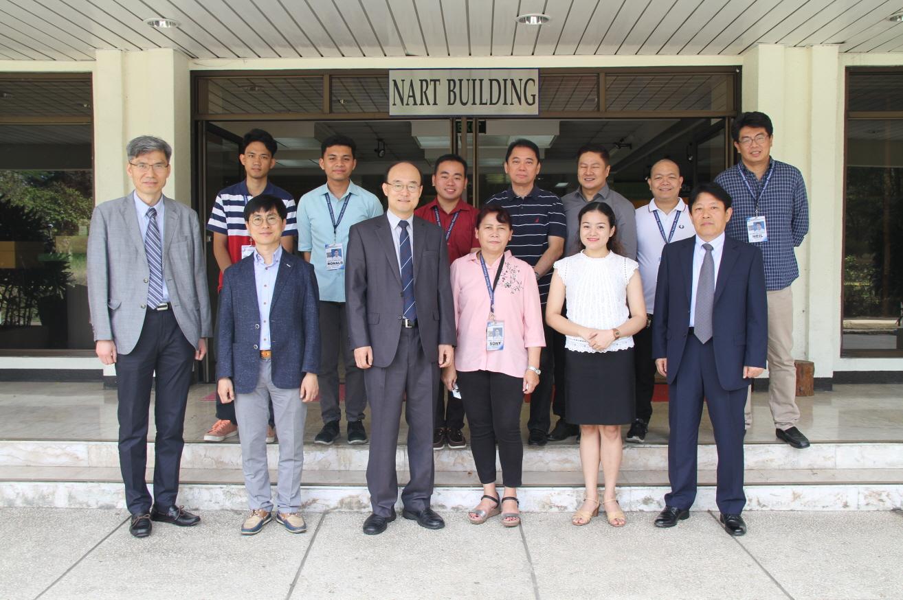 사진 원자력연구원은 연구로 기술자문을 위해 필리핀원자력연구소를 방문했다